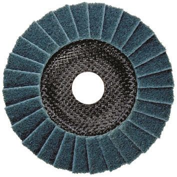 DRONCO Flap Disc, 125mm x 22mm Bore