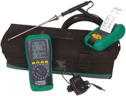KANE450-201 KIT/RS Flue Gas Analyser