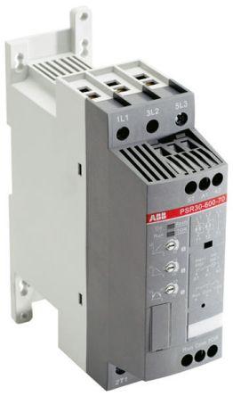 ABB 30 A Soft Starter PSR Series, IP20, 15 kW, 600 V