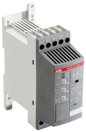 ABB 3.9 A Soft Starter PSR Series, IP20, 1.5 kW, 600 V