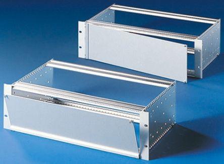 19-inch Front Panel, 3U, 84hp, Unpainted, Aluminium product photo
