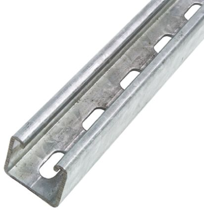 Galvanised steel slotted channel 41x41mm advanced blackjack play