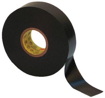 3M Black Electrical Insulation Tape, 19mm x 20 1m