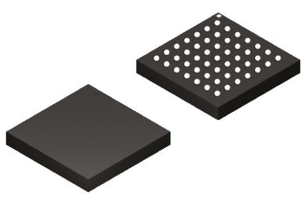 Lattice FPGA iCE40LP1K-CM49, iCE40 LP 1280 Cells, 64kbit, 160 Blocks,  49-Pin UCBGA