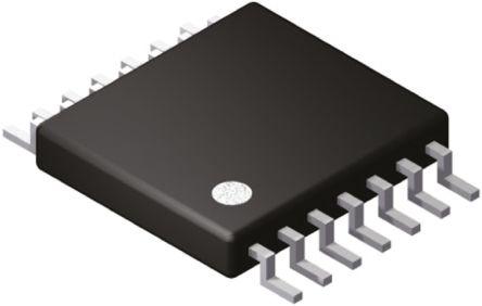 AD5280BRUZ20, Digital Potentiometer 20kΩ 256-Position Serial-3 Wire, Serial-I2C 14-Pin TSSOP