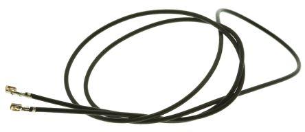 Molex 92001-1199 Test Lead Wire 1 A Black 300mm