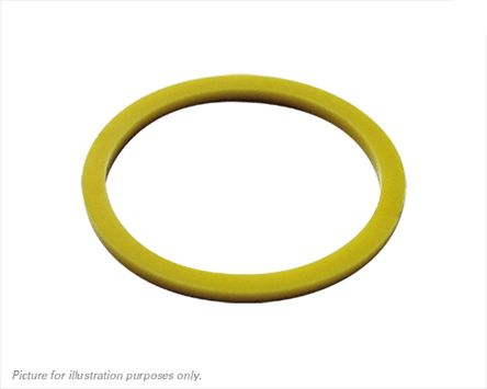 Souriau Yellow Connector Ring,Shell Size 12