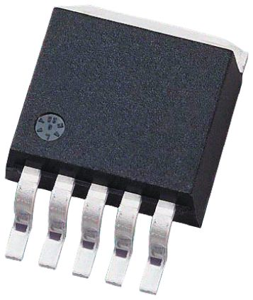ON Semiconductor MC34167D2TR4G, 1, Boost/Buck Converter Inverting 5A, 72 kHz 5-Pin, D2PAK