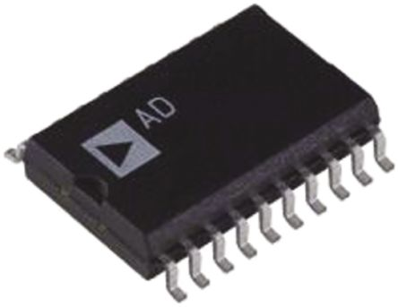 Analog Devices AD7545AKRZ, 12 bit Parallel DAC, 20-Pin SOIC W