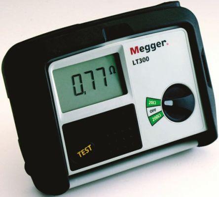 LT300-RS-SC | Megger LT300, LCD Schleifenimpedanz Messgerät, 2-Draht ...