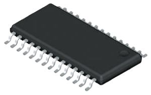Analog Devices AD7718BRUZ, 24-bit Serial ADC Differential, Pseudo Differential Input, 28-Pin TSSOP