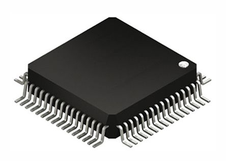 Silicon Labs EFM32LG330F256G-E-QFN64R, 32bit ARM Cortex M3 Microcontroller, 48MHz, 256 kB Flash, 64-Pin QFN