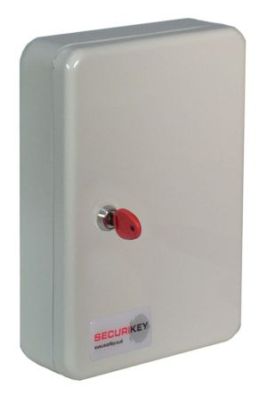 30 key grey steel cabinet,305x215x80mm