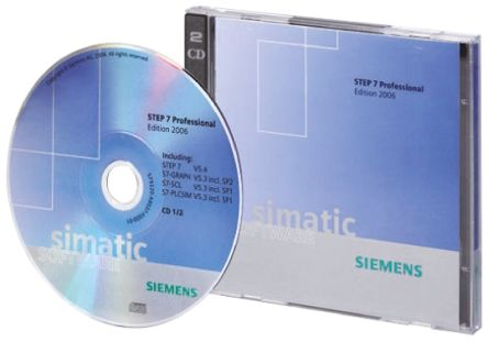 Siemens PLC Programming Software S7 STEP 7 PROF 2010 SR4 for use with  SIMATIC S7 Series, For Various Operating Systems