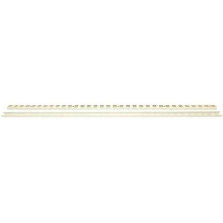 Steel White Modular Shelving Wall Mount Upright, 1000mm, 1000mm product photo