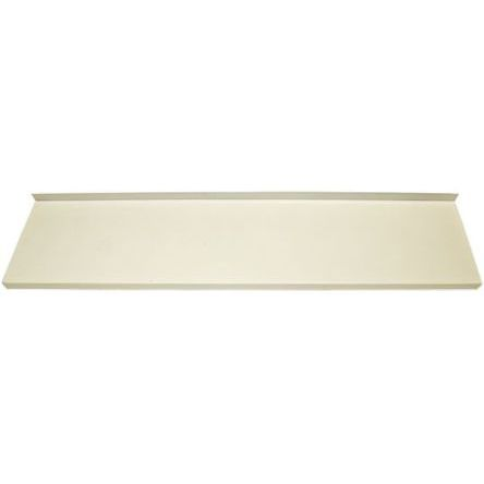 Steel White Modular Shelving Wall Mount Shelf, 1000mm x 1m x 370mm product photo