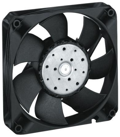 ebm-papst 4400fn series axial fan, 119 x 119