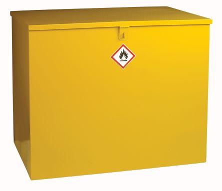 Yellow Lockable 1 Doors Hazardous Substance Cabinet, 810mm x 965mm x 630mm product photo
