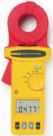 Fluke 1630 Earth & Ground Resistance Tester 1.5kΩ CAT III 300 V RS Calibration