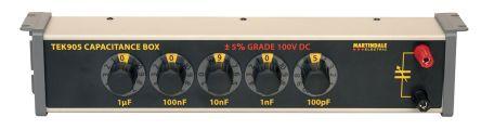 Martindale TEK905 Decade Box, Decade Box Type Capacitance