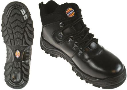 d1e9ef9da0e Dickies Fury Steel Toe Safety Boots, UK 11, EUR 45, Resistant To Oil,  Petrol Anti-Slip Anti-Static