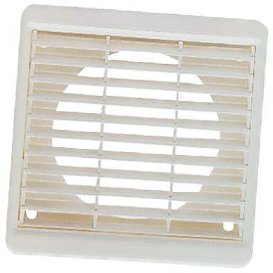 White Plastic Vent Grille, 140 x 140mm product photo