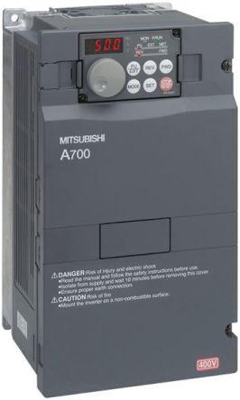 fr a740 00126 ec mitsubishi fr a740 inverter drive 3 7 kw with emc rh uk rs online com York Mitsubishi VFD mitsubishi vfd a700 manual