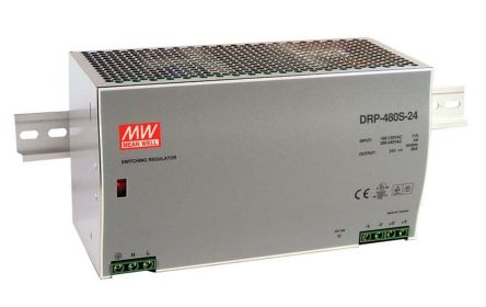 DRP-480S-48 | DRP Switch Mode DIN Rail Panel Mount Power Supply ...