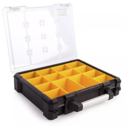 9aafd5bbb Přihrádková krabice 14 přihrádek Průhledná hliník nastavitelná 110mm ...