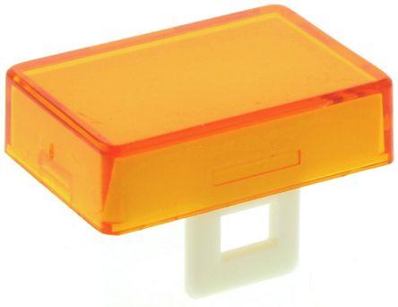Rectangular orange lens for 16mm switch