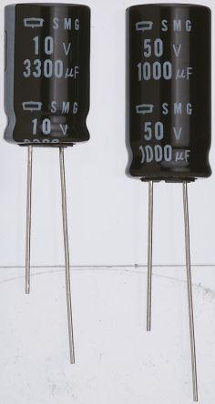 Pk of 4 Nippon Chemi-Con SME Radial Electrolytic Capacitor 470µF 25V 85°C
