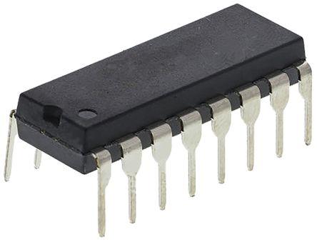STMicroelectronics L6574, Lighting Ballast Driver Half Bridge, 16.6V 16-Pin, PDIP