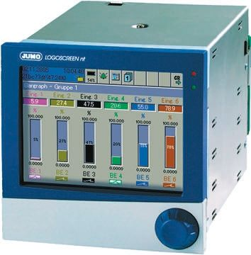 706580/09-300-33/020, 6 Channel, Paperless Chart Recorder product photo