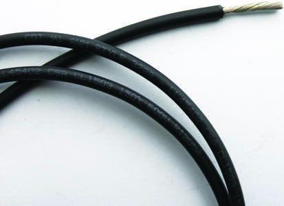 RS Pro ZYRAD Schaltdraht, Kupferdraht-Spule verzinnt, schwarz, 4 mm² ...