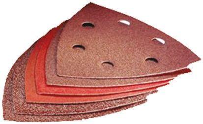 Bosch Fine, Medium, Very Fine Sanding Sheet, 60, 80, 120, 180, 240 Grit, 93mm x 93mm