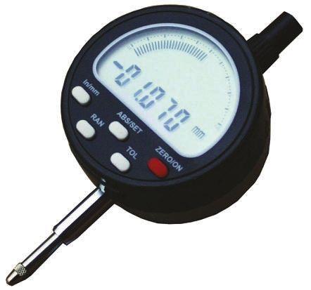 RS PRO Plunger Dial Indicator, Range 0  12.7 mm