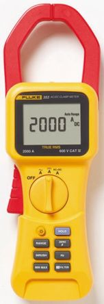 353 Clamp Meter, Max Current 2kA ac, 2000A dc CAT III 1000 V, CAT IV 600 V With UKAS Calibration product photo