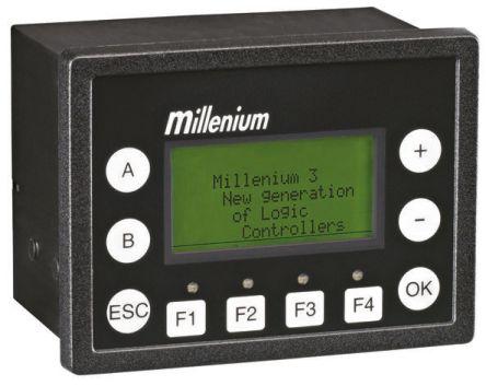Crouzet Backlit LCD HMI Panel, 3.5 in Display, 24 V dc Supply