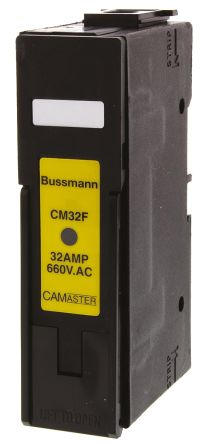 Cooper Bussmann 32A Rail Mount Fuse Holder With Indicator For A2