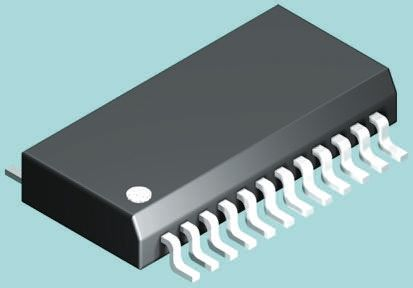 EL4543IUZ Renesas Electronics, 3-Channel Differential Line Driver 9 V 350MHz 24-Pin QSOP