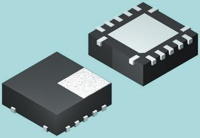 ON Semiconductor 74LCX125BQX, Quad Non-Inverting 3-State Buffer, 14-Pin DQFN