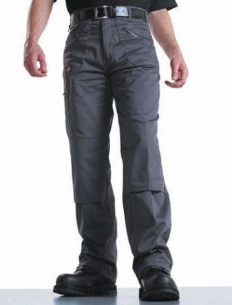 Redhawk Navy Men's Cotton, Polyester Trousers Imperial Waist 30in product photo