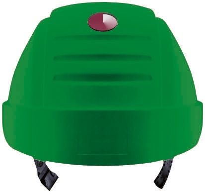 G2000 Green ABS Standard Peak Vented Hard Hat product photo