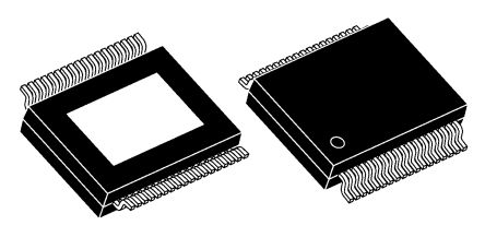 STMicroelectronics, STA339BWS13TR Audio System Circuit 192kHz I2S, 36-Pin PowerSSO
