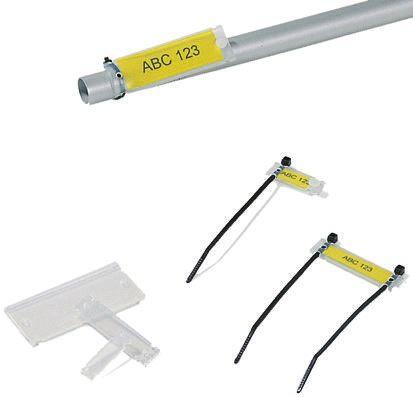 HellermannTyton Helafix Tie Cable Marker Transparent