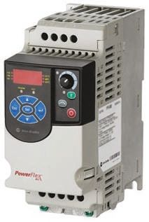 Inverter Drive, 1-Phase In, 400Hz Out 0.4 kW, 230 V ac, 2.5 A PowerFlex 4M, IP20, ModBus product photo