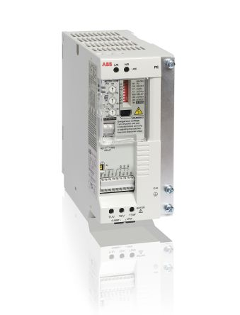 ABB ACS55 Inverter Drive 0.75 kW with EMC Filter, 1-Phase In, 200 → 240 V, 4.3 A, 130Hz Out, IP20