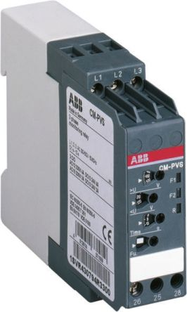 ABB Phase Voltage Monitoring Relay with 2NO2NC Contacts 3 Phase