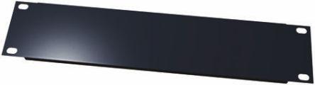 19-inch Rack Panel, 3U, Black, Steel product photo