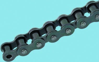 04B1 Connecting Link Simplex Spring Clip Type 6mm Pitch